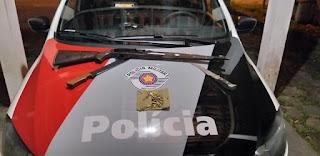 Polícia Militar prende dois homens armados em caminhonete dublê em Juquiá