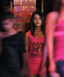 Fun with Myanmar Girls at night at Zero Zone