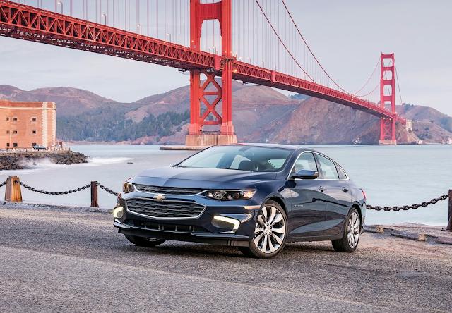2016 Chevrolet Malibu Golden Gate Bridge