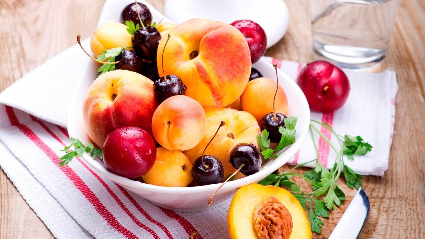 ăn hoa quả dưỡng da mặt khô