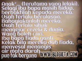 Pic Of The Day, Top Post, ieta Mat Saad, Writer, Motivator, Consultant, Editor, Poet, Entrepreneur, Cikgu Blogger, Blogger, Top Blogger, Kisah Cikgu ieta, Blog ieta Dot Com, ieta info line, Port Blogger, Travel Blogger, Lifestyle Blogger, Parenting Blogger, Media Influencer, Social Media Influencer, Blogger Malaysia, Blogger Kuala Lumpur, Malaysian Blogger, Islamic Blogger Community, Malaysians Blogging Community, Cikgu, Bila ada ayah dan ibu, ayah, ibu, ibu bapa, emak, abah, APA KITA PERLU BUAT BILA MASIH ADA AYAH DAN IBU?, bagaimana menghargai ayah dan ibu?