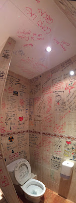 The bathroom in Barri Antic Hostel