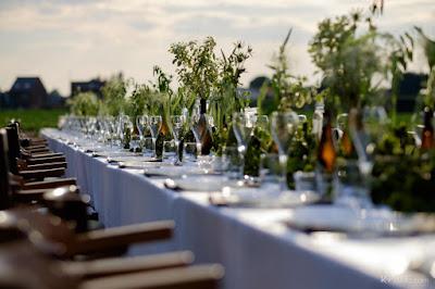 parelende tafels van Bru
