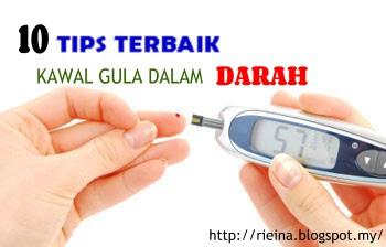 Tips Kawal Gula Dalam Darah