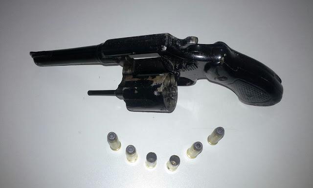Arma utilizada na ação