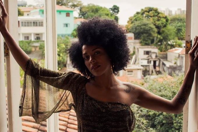 Negra Cinthia valoriza a beleza negra em novo single