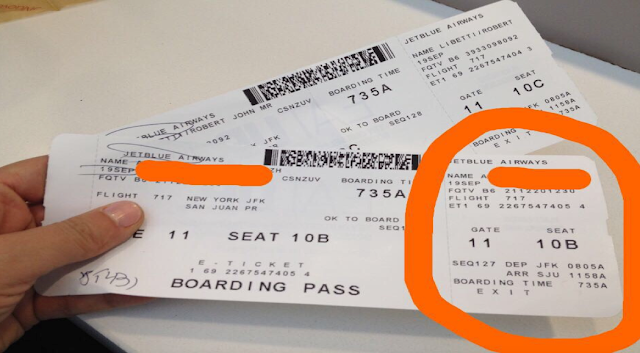 Reason Why You Should Never Post Pictures of your Boarding Pass Online