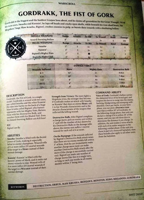 Warscroll White Dwarf 117