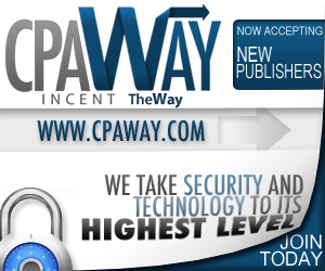 CPAWay Review Top affiliate network