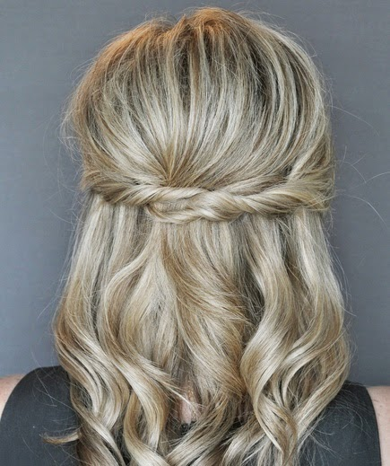 See more Half-Up Twist Hairstyle | Real Simple