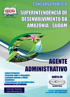 Apostila SUDAM - Agente Administrativo