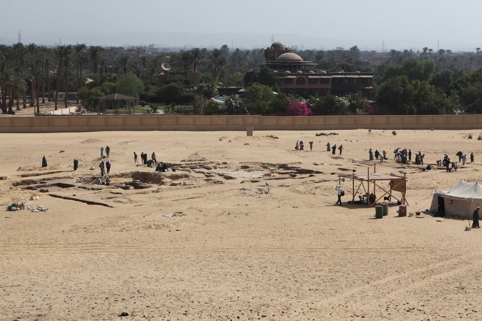 Temple of Ramses II discovered in Giza