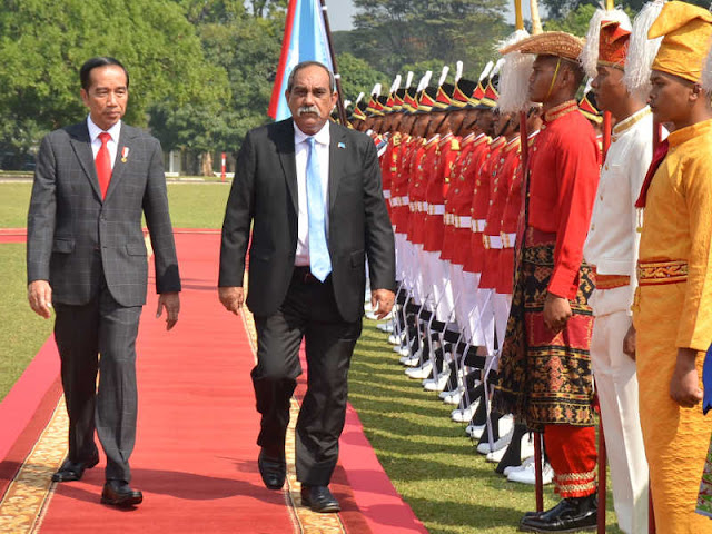 Jokowi Appreciates Peter Christian  Commitment to Respect Indonesia Territorial Integrity