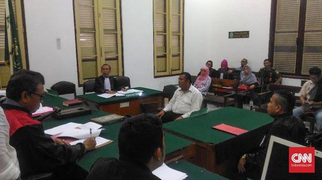 Hapus Status DPO Narkotik, Pegawai BNN Dituntut 2 Tahun Bui