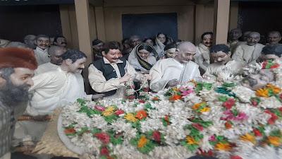 commemorazione di gandhi