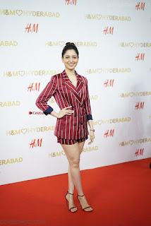 Tamannah Bhatia Exclusive in Red Blazer and Red Shorts Spicy Pics ~  Exclusive 027.JPG