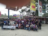 Tak Mau di Cap Pembuat Onar, Saludur Sporter Perbatasan Galang Dana Untuk Korban Gempa