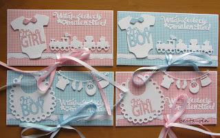 673. Kopertóweczki w krateczki dla dziewczynki lub chłopczyka:)