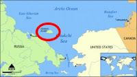 Ubicación de la Isla Wrangel