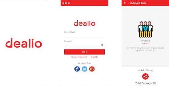Dealio Apk v1.0.2 Plus Penghasil Pulsa Grastis Tanpa Root