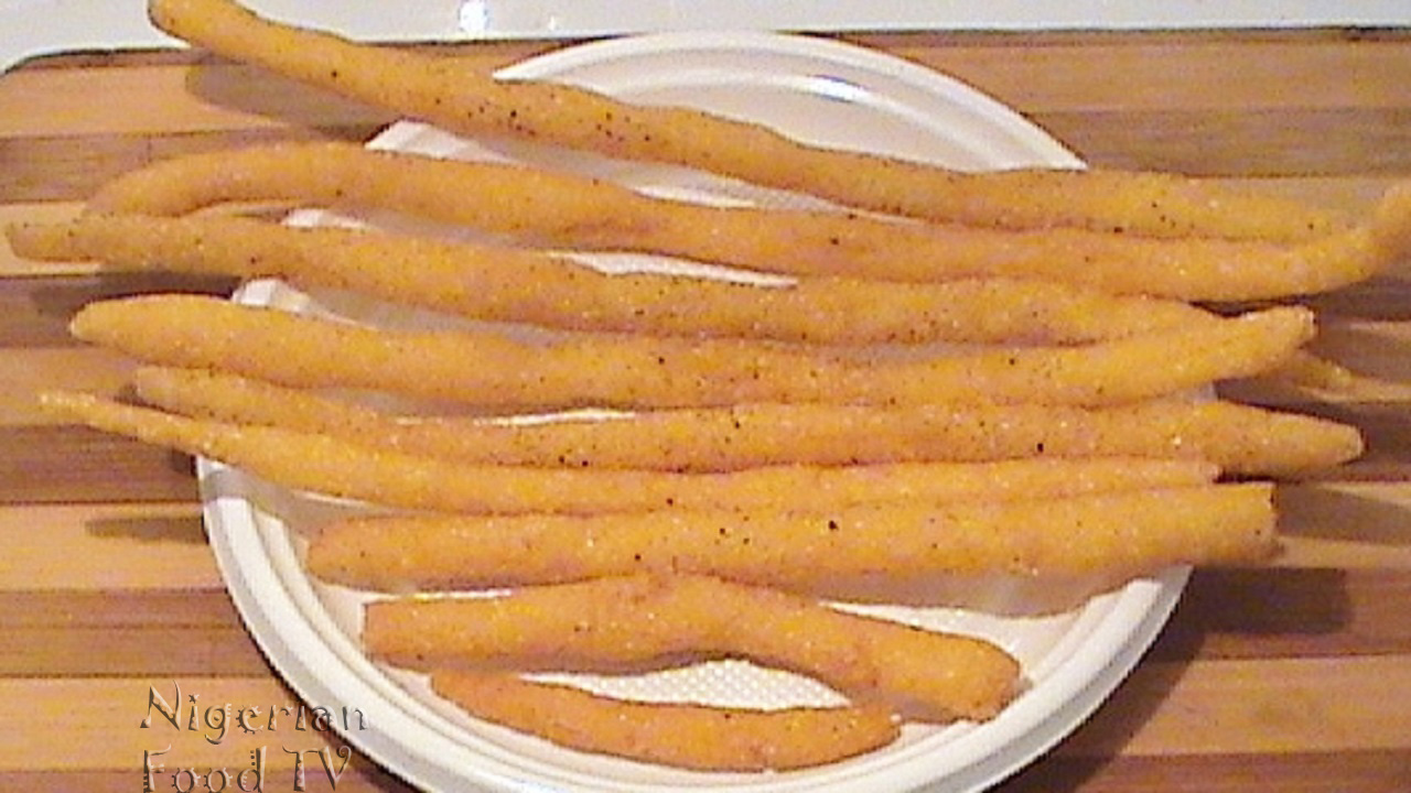 Kokoro recipe korokoro a Nigerian snacks for all