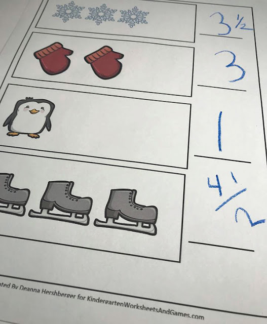 kindergarten ruler worksheets