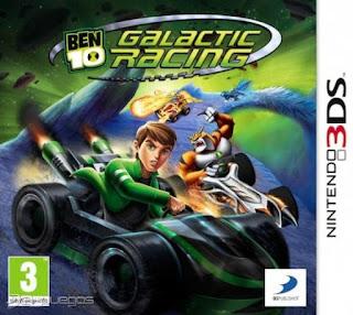 Ben 10 Galactic Racing, 3ds, español, mega