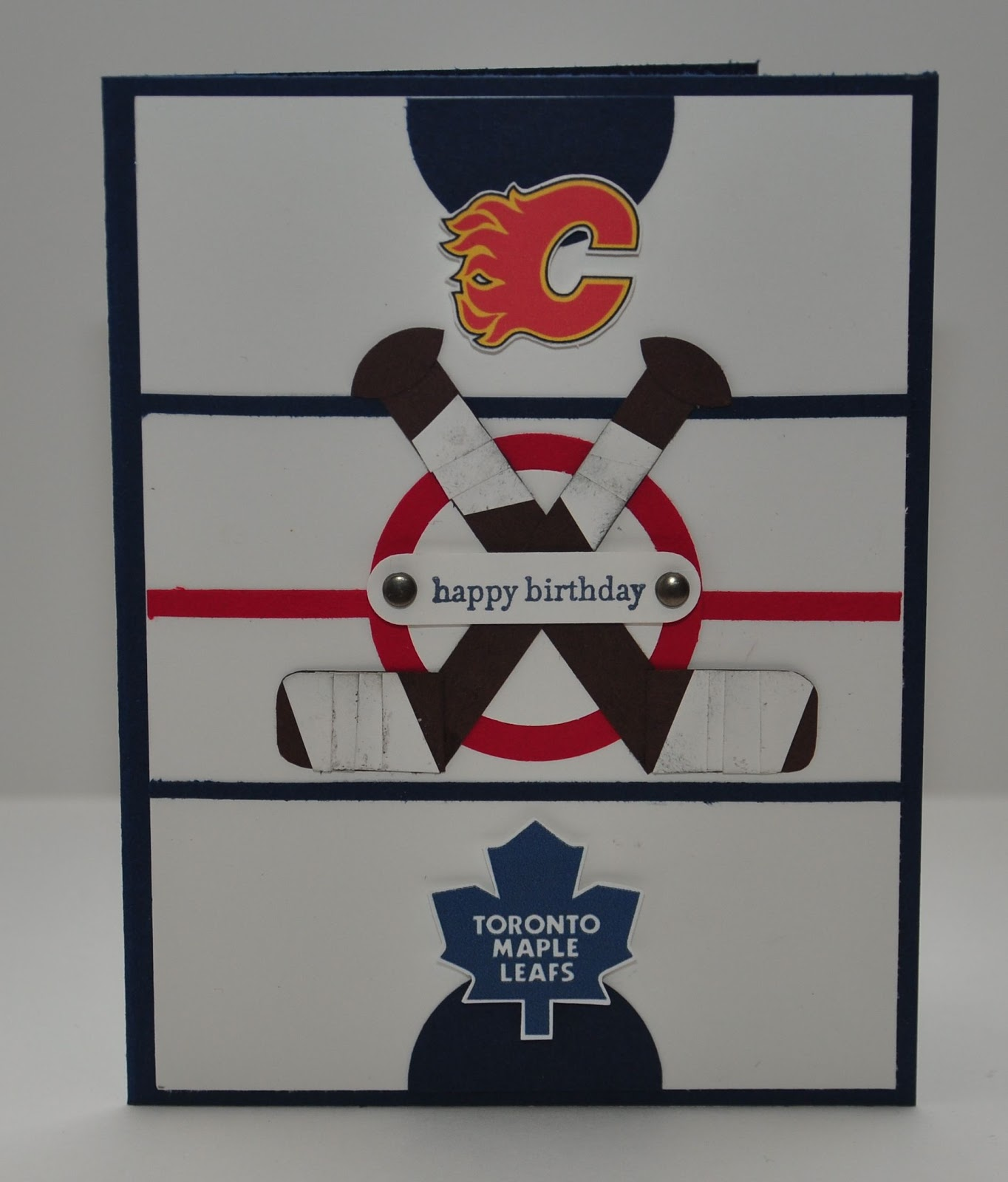 Snippets By Design: Happy Birthday To A Hockey Fan