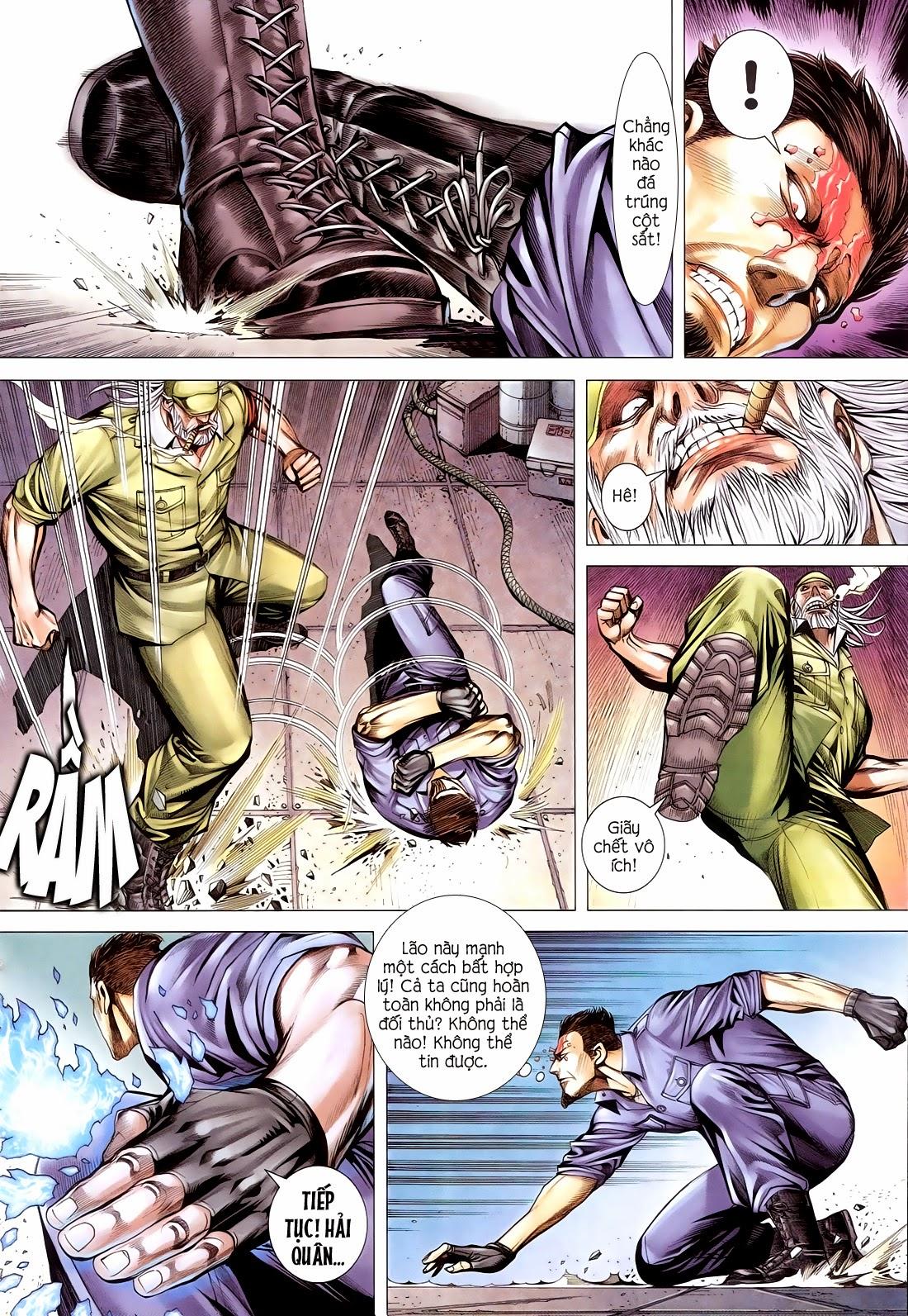 Đại Quân Phiệt chap 14 trang 21