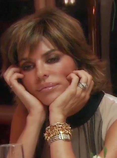 Lisa Rinna Stella & Dot Bracelets on RHOBH