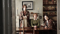 Finn Atkins, Charlie Murphy and Chloe Pirrie in To Walk Invisible: The Bronte Sisters (8)