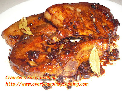 Adobong Pork Chop