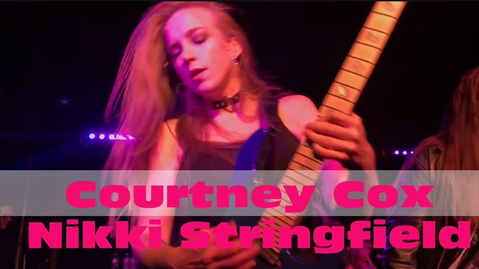 Courtney Cox, Nikki Stringfield: The Iron Maidens - recent show performances