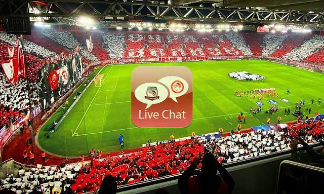Ζωντανή συνομιλία μόνο για Ολυμπιακούς | Live Chat