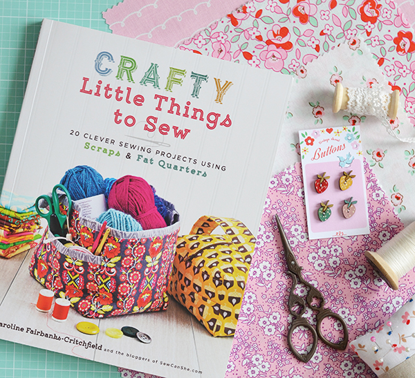 Book Review: Crafty Little Things To Sew