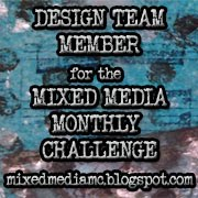 Mixed Media Monthly Challenge