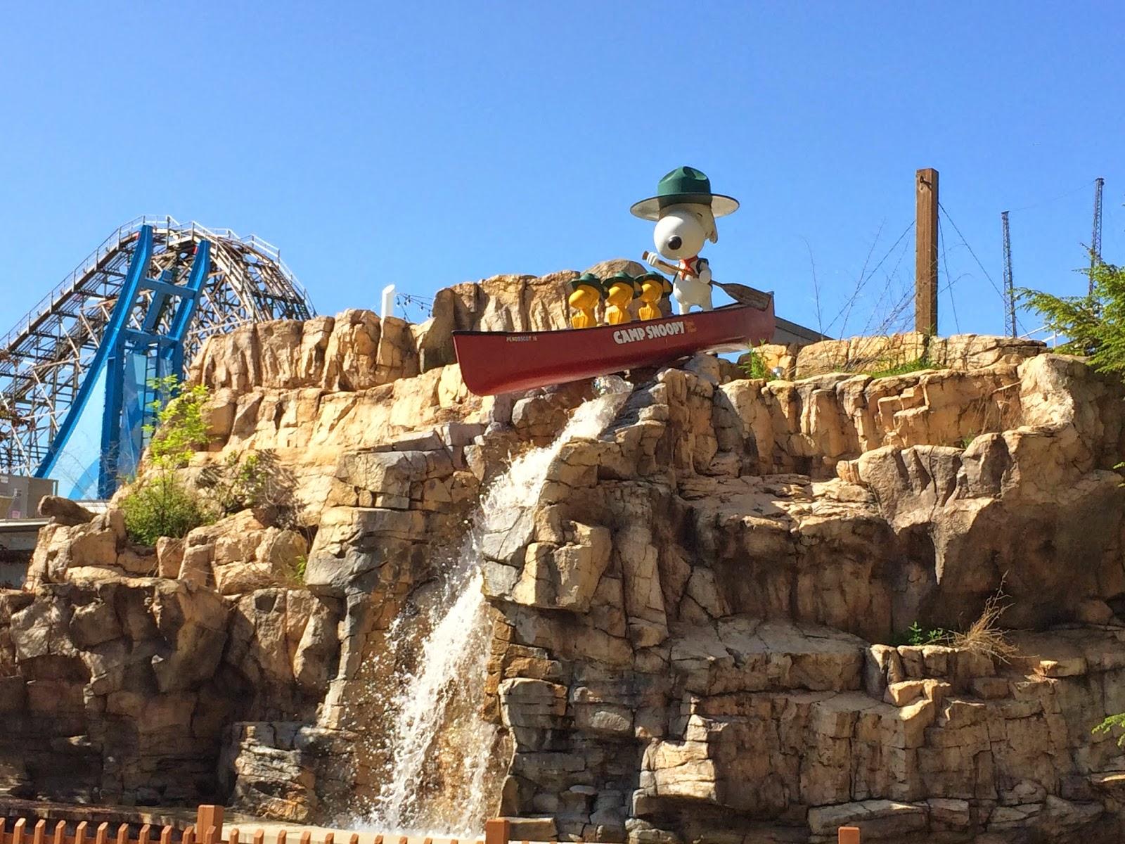 Camp Snoopy Cedar Point