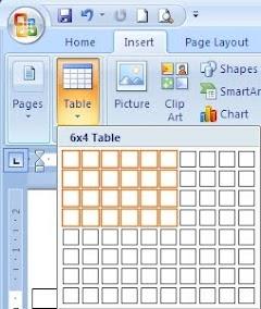 6 Cara Membuat Tabel Pada Microsoft Word