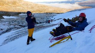 Cairngorm winter mountaineering course, Aviemore