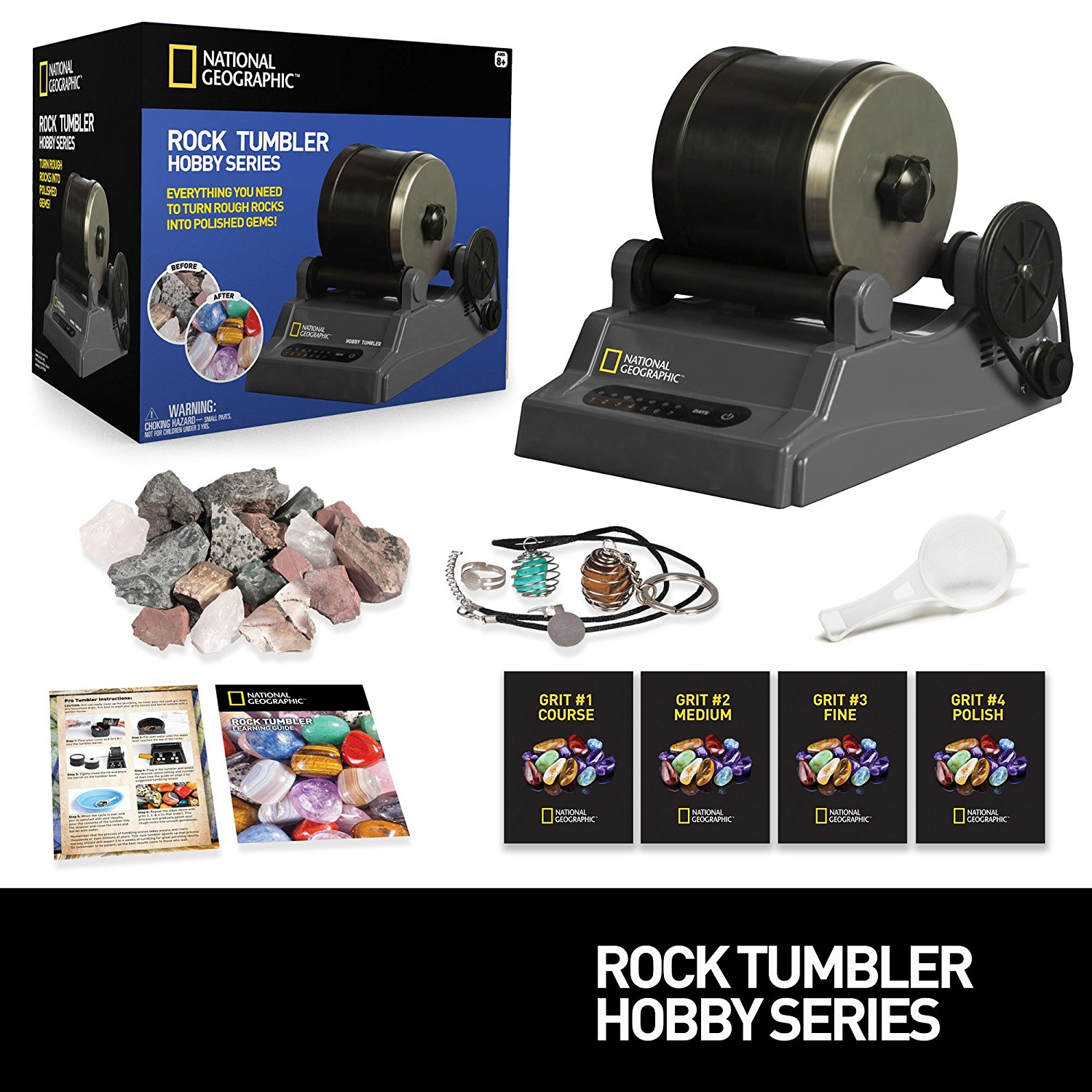 Twisted pixie reviews product review national for Diy rock tumbler motor
