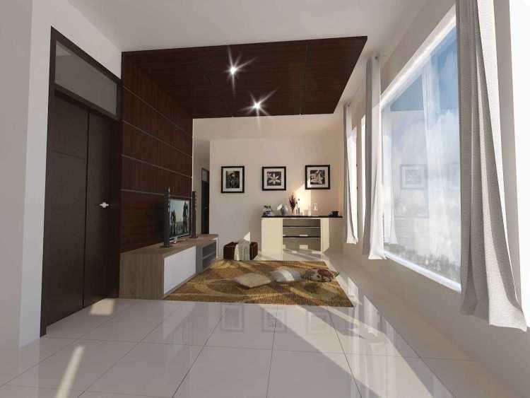 Desain Interior Ruang Tamu Lesehan Sederhana