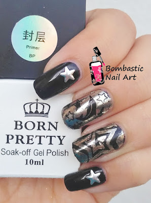 Silver Chrome Nails by Born Pretty Store