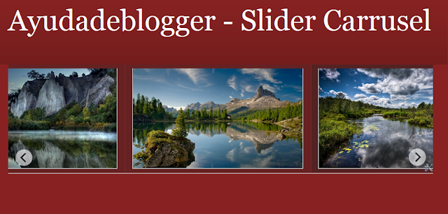 Slider Carrusel para Blogger Video Tutorial