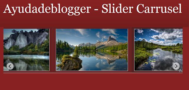 Slider Carrusel para Blogger Video Tutorial