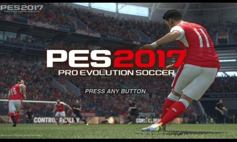 Download PES 2017 APK Data Android
