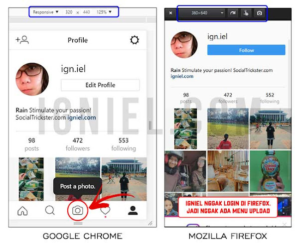 Upload Foto Ke Instagram Dari PC - igniel.com