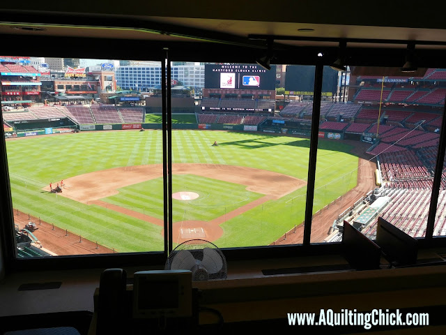 A Quilting Chick - Cardinals Press Box