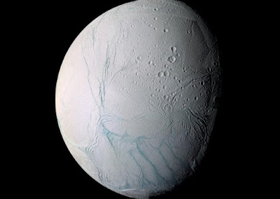 Enceladus one of several bodies defying deep time