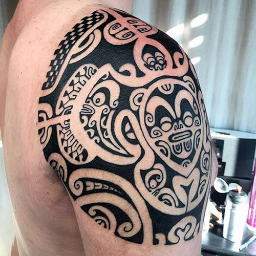 maori tribal dövmeler tattoos 46