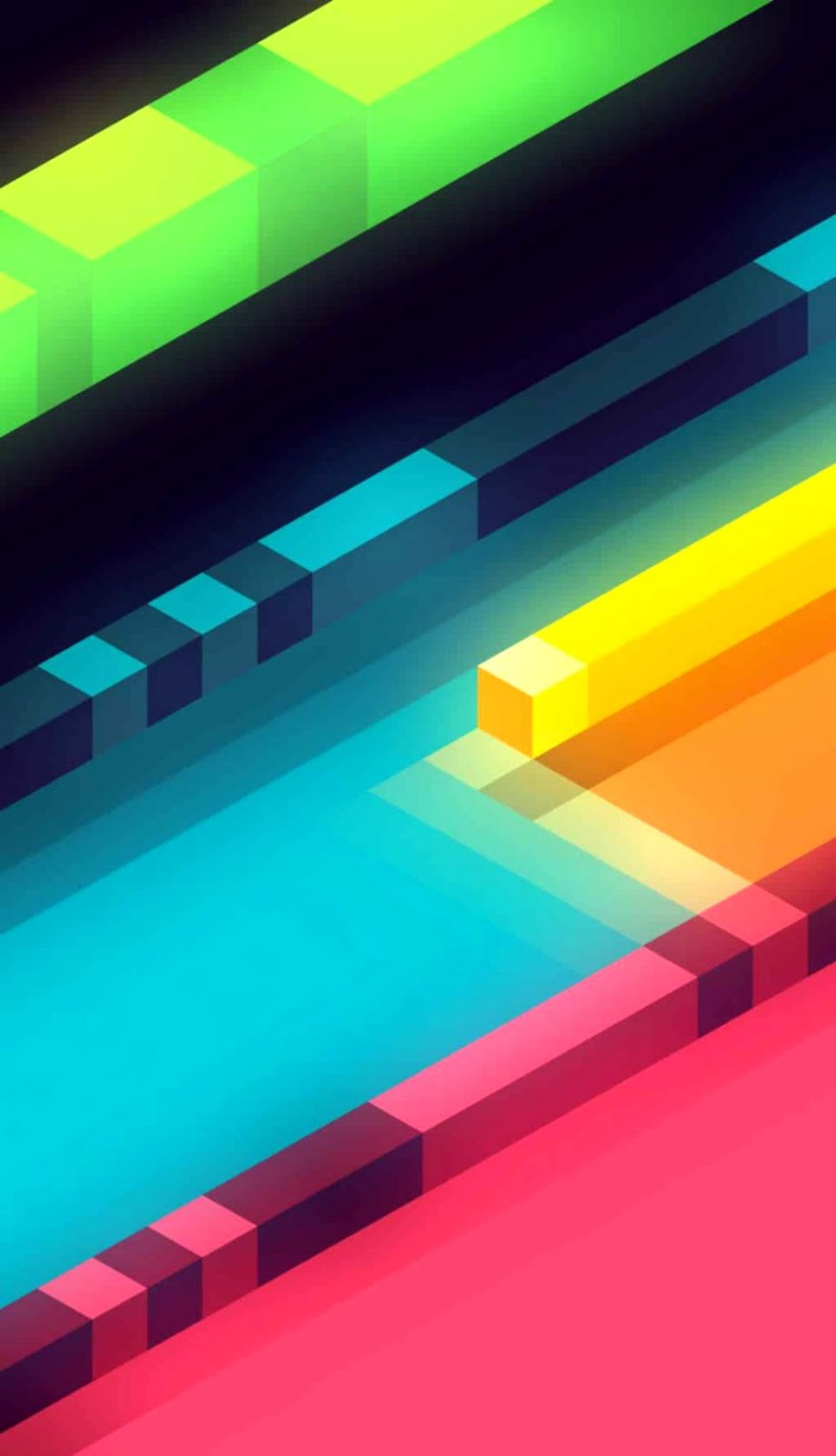 Colorful Diamond Shape Pattern Iphone 5 Wallpaper Its